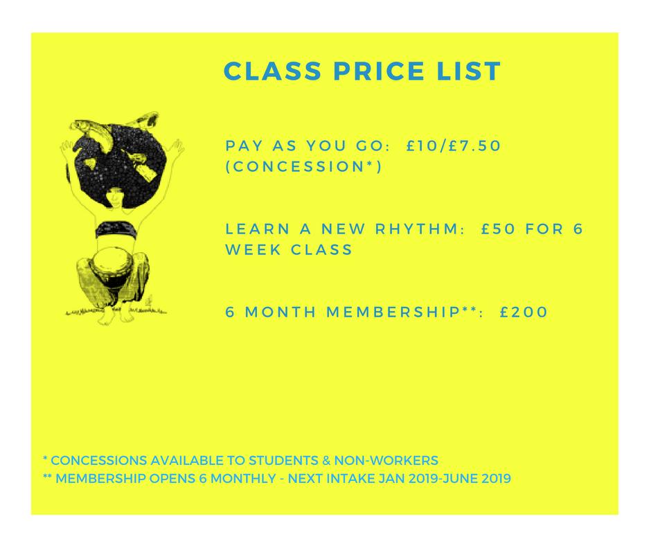 GDC Price List